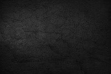 Old Black Wall Background Texture