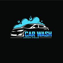 Auto Car Wash Logo Design