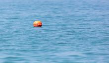 Big Orange Float On The Sea