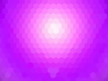 Abstract Background Of Pink Hexagon