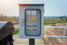 Water Power Distribution Control Cabinet