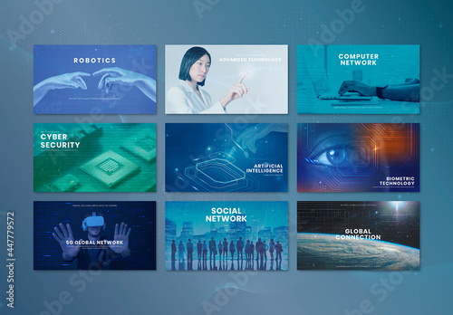 Technology Business Innovation Presentation Layout