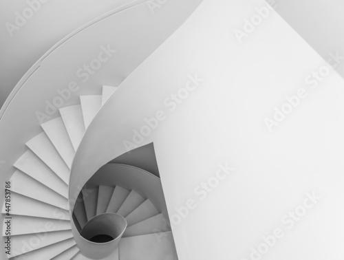 Fotografering Modern spiral staircase