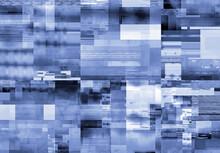 Glitch Background. Screen Bug Effect.