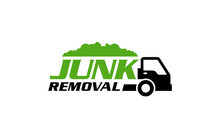 Illustration Vector Graphic Of Junk Removal Solution Services Logo Design Template