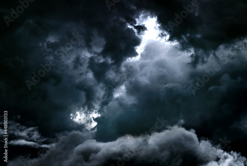 Tablou Canvas Dark Storm Clouds