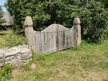 Old Gate, Ukraine, Old Gate In The Ukrainian Village