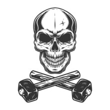 Skull And Crossed Sledgehammers
