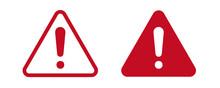 Attention, Caution, Hazard, Warning, Alert Mark Symbol Icon , Vector Illustration.