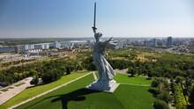 Statue Of Mamaev Kurgan Motherland