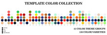 Collection Of Color Templates For Coloring Design Inspiration