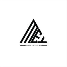 MEY Letter Logo Creative Design. MEY Unique Design
