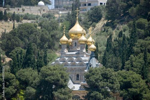 Fotografia Church of Mary Magdalene in Jerusalem, Israel