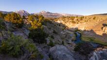 Sunrise At Hot Creek Geological Site