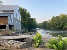 Old Mill Overlooking The River. Located Near The Antietam Battlefield Koa Campground