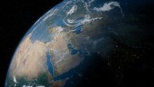 Earth In Space.
