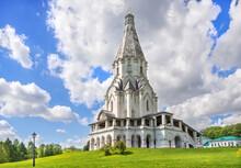 Ascension Church In Kolomenskoye In Moscow