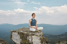 Modern Woman Practicing Meditation