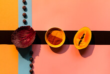 Colorful Detail Of Food Composition