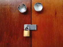 Woon Door Locked By The Ky. Closed Door.