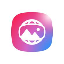 Panorama - App Icon Button