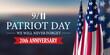 Leinwandbild Motiv 9 11 Patriot Day