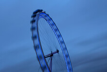 Detail Of London Eye Ferries Wheel, London, UK