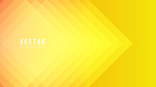 Abstract Colorful Gradation With Geometric Shape Background,overlapping Squares On A Yellow Background , Modern Background Design For Presentation, Illustration Vector EPS 10