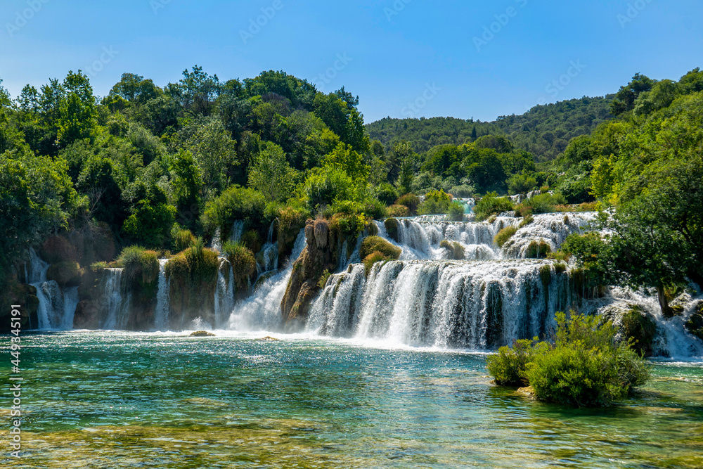 croatia-national-park-waterfalls-krka w salonie
