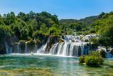 Fototapeta Łazienka - croatia-national-park-waterfalls-krka