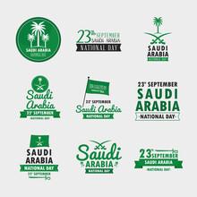 National Day Icons In Saudi Arabia