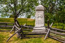 Photo Of The Eighth Ohio Volunteer Infantry Monument, Antietam National Battlefield, Maryland USA