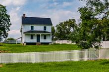 Photo Of The Poffenberger Farmhouse, Antietam National Battlefield, Maryland USA