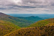 Beautiful Views From The Appalachian Trail, Shenandoah National Park, Virginia, USA