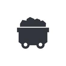 Minecart Or Mine Wagon Icon