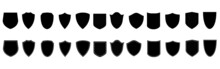 Shield Icons Collection. Protect Shield Set. Set Of Shields. Protection. Different Shields