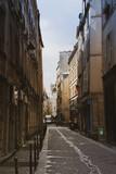 Fototapeta Fototapety Paryż - Klimatyczna ulica w Paryżu