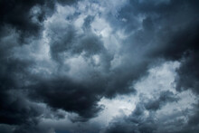Sky With Storm Clouds