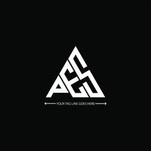 PES Letter Logo Creative Design. PES Unique Design