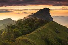 Landscape Of Doi Mon Chong, Chiangmai, Thailand.