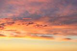 Fototapeta Na sufit - Niebo o zachodzie słońca