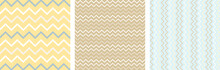 Seamless Zig Zag Repetitive Lines Colorful Texture Pattern Background Illustration For Printing Clothing, Textile, Graphic Design.