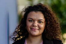 Portrait Of Aboriginal Woman