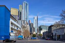 Melbourne City Buildings Around RMIT University District