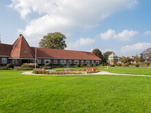 Part Of Former Almshouse Welgelegen In Akkrum, Friesland, Netherlands
