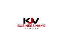 Letter KJV Logo, Creative Kjv Logo Letter Vector Stock