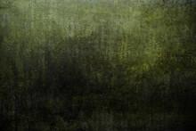 Dark Green Wall Grunge Texture