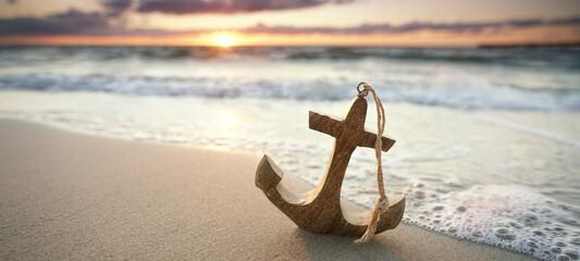 Anker am Meer