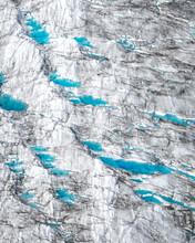 Blue Glacial Pools
