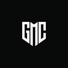 GMC Letter Logo Design On White Background. GMC Creative Initials Letter Logo Concept. GMC Letter Design.